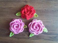 Crochet Earrings, Floral, Flowers, Jewelry, Amigurumi, Jewlery, Jewerly, Schmuck, Jewels