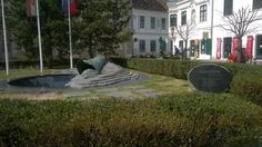 Monument for the victims of the world war II.