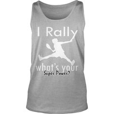 I Rally #Tennis Grandpa Grandma Dad Mom Husband Wife Girl Boy Guy Lady Men Women Man Woman, Order HERE ==> https://www.sunfrogshirts.com/Sports/128270487-803422140.html?89701, Please tag & share with your friends who would love it, #jeepsafari #birthdaygifts #superbowl  #tennis workout, tennis clothes, tennis photography  #tennis #entertainment #food #drink #gardening #geek #hair #beauty #health #fitness #history