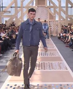 www.scentedlife.it favs #LouisVuittonSS14 looks: Geometric cuts meets Boyscouts meets French Provence meets Vintage Hamptons