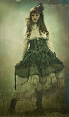 Unknown - Victorian style steampunk photography