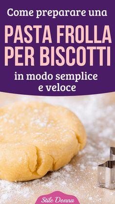 Biscotti Cookies, Cake & Co, Cannoli, Pie Dessert, Mini Desserts, Italian Recipes, Nutella, Breakfast Recipes, Biscuits