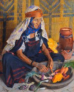 Bédouine Alya von Alexandre Roubtzoff