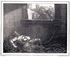 Ragnar Lothbrok, was eventually kidnapped and thrown into the pit of vipers by King Aelle. The Vengeance of Ivarr the Boneless