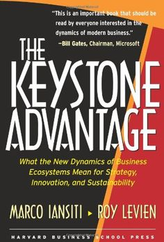 The Keystone Advantage: What the New Dynamics of Business Ecosystems Mean for Strategy, Innovation, and Sustainability by Marco Iansiti,http://www.amazon.com/dp/1591393078/ref=cm_sw_r_pi_dp_4w5ysb0GSYZZ1VME