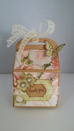 Baker's box #stampin'Up!