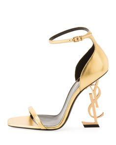 851b0e0665bb 1195 2019 Opyum YSL Logo-Heel Sandals Ysl