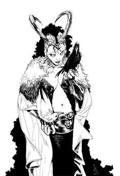 Lady Loki by Sara Pichelli