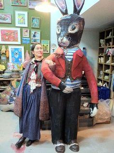 パリ出身世界中で活躍するフランス人女性アーティストのナタリー・レテ