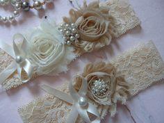 Blush / Garter / Wedding Garters / Lace Garter by FalabellaBridal, $20.80
