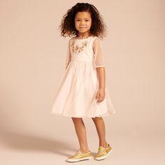 Coral Dress - Shell Pink - Girls Partywear - Girls 2-15YRS