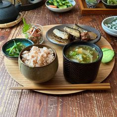 Japanese Diet, Japanese Lunch, Healthy Drinks, Healthy Recipes, Clean Eating, Healthy Eating, Good Food, Yummy Food, Food Combining