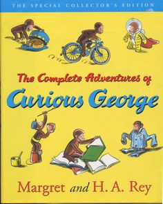 The Complete Adventures of Curious George - Such a classic. My kids all love George! #PrimroseReadingCorner