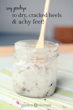 This healing foot scrub will soothe feet with all-natural ingredients