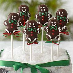 gingerbread christmas cake - Google Search