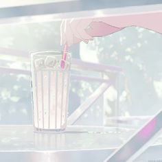 Find images and videos about pink, gif and anime on We Heart It - the app to get lost in what you love. Anime Gifs, Fanarts Anime, Anime Art, Aesthetic Gif, Pink Aesthetic, Aesthetic Wallpapers, Casa Anime, Japon Illustration, Anime Kunst
