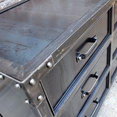 GrandView Steel Dresser