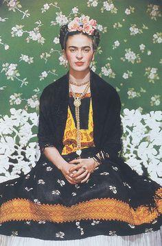 Nickolas Muray_ Frida Kahlo on White Bench_c.1939