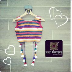 loved the idea Blouse Back Neck Designs, Sari Blouse Designs, Choli Designs, Fancy Blouse Designs, Designer Blouse Patterns, Lehenga Designs, Stylish Blouse Design, Indian Designer Outfits, Blouses