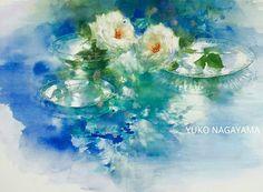 Цветочная акварель... Художница Yuko Nagayama.. Обсуждение на LiveInternet…