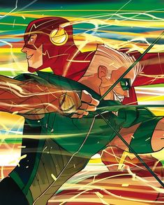 Flash and Green Arrow