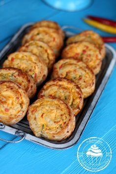 Pullahiiren leivontanurkka: Joulukalenteri - Luukku 18: Suolaiset kasviskierteet nopeasti ja helposti