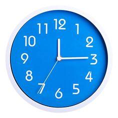 Nuova offerta in #cucina : Binwo colorate e moderne elegante alla moda silenzioso e non ticchettio della cucina della casa / del salone orologi da parete 10 pollici (Blu) a soli 16.99 EUR. Affrettati! hai tempo solo fino a 2016-09-06 23:05:00