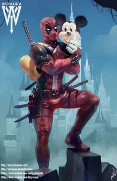Deadpool and Mikey Mause Best FFryend WY