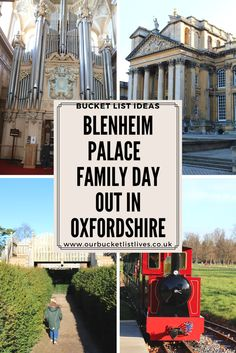 Blenheim Palace Family day out in Oxfordshire. Things to do in Oxfordshire. Days out #blenheimpalace #daysout #family #familyfriendly #travel #oxfordshire