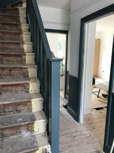Our unfinished hallway and need for storage – Apartment Apothecary Victorian Terrace Hallway, 1930s Hallway, Edwardian Hallway, Dado Rail Hallway, Hallway Flooring, Hallway Designs, Hallway Ideas, 1930s Semi Detached House, 1930s House Interior