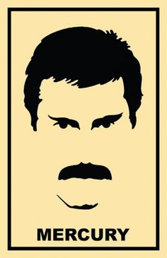 My partner loves Freddie, Hot Space inspired Freddie Mercury Art Print Queen Freddie Mercury, Freddie Mercury Tattoo, Queen Art, Stencil Art, Stencils, Band Posters, Movie Posters, Arte Pop, Rock Art