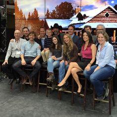 Heartland cast & crew at Meet & Greet in Toronto