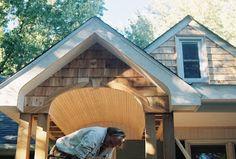 Home Exterior Facelift; Adding a Porch!