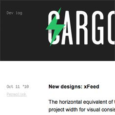 Cargo - to display my portfolio