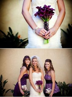 Purple Calla Lily Wedding Bouquets (Source: media-cache-ec3.pinterest.com)