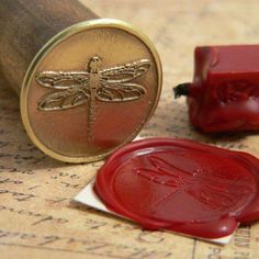 Dragonfly Wax Letter Seal