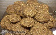 Diétás zabkeksz Dog Food Recipes, Almond, Paleo, Cookies, Chocolate, Crack Crackers, Biscuits, Dog Recipes, Almond Joy