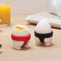 Sumo Egg Cup Set