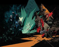 For lovers of Mignola covers