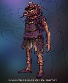 Meet the crab! #nightmares #kraken #artifexmundi  www.facebook.com/NightmaresFromTheDeep    http://www.artifexmundi.com/page/piraci2