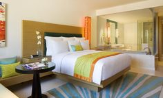 Deluxe King Guest Room While visiting our Phuket hotel, stay in the deluxe king guest room and experience Marriott's luxury plush signature bedding, stylish furniture and artwork, thoughtfully placed lighting and amenities.