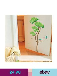 Tree Branch Birds Wall Stickers Home Art Decor Mural Paper DIY Lounge Decal