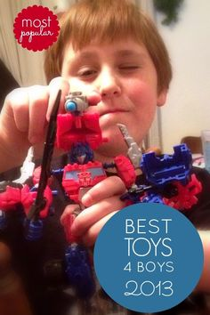 Best Christmas Toys for Boys 2013 - Transformers Constructbots www.spaceshipsandlaserbeams.com