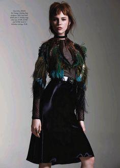 visual optimism; fashion editorials, shows, campaigns & more!: chic happens: nicole pollard by todd barry for harper's bazaar australia nove...