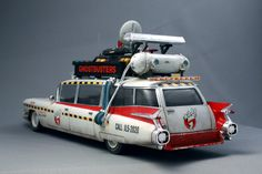 Ghostbusters Ecto -1 ... TOO COOL!