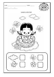 Atividades com numerais de 1 a 5 para a Educação Infantil