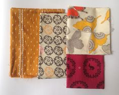 Fabric Scrap Pack Fabric Bundle Destash by theowlsarehunting Fabric Scraps, Packing, Quilts, Blanket, Bag Packaging, Quilt Sets, Quilt, Rug, Log Cabin Quilts