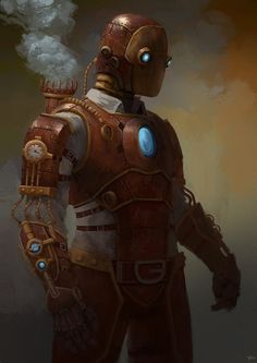 Iron Man version steampunk - Tim Albano