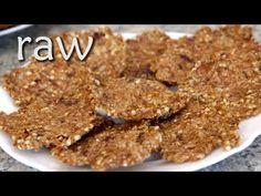 Pohankovo-rajčatové nepečené raw placky - YouTube