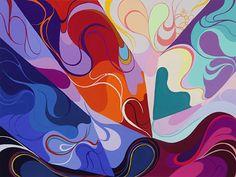 2014年度 多摩美術大学 テキスタイルデザイン専攻 合格者再現作品:色彩構成